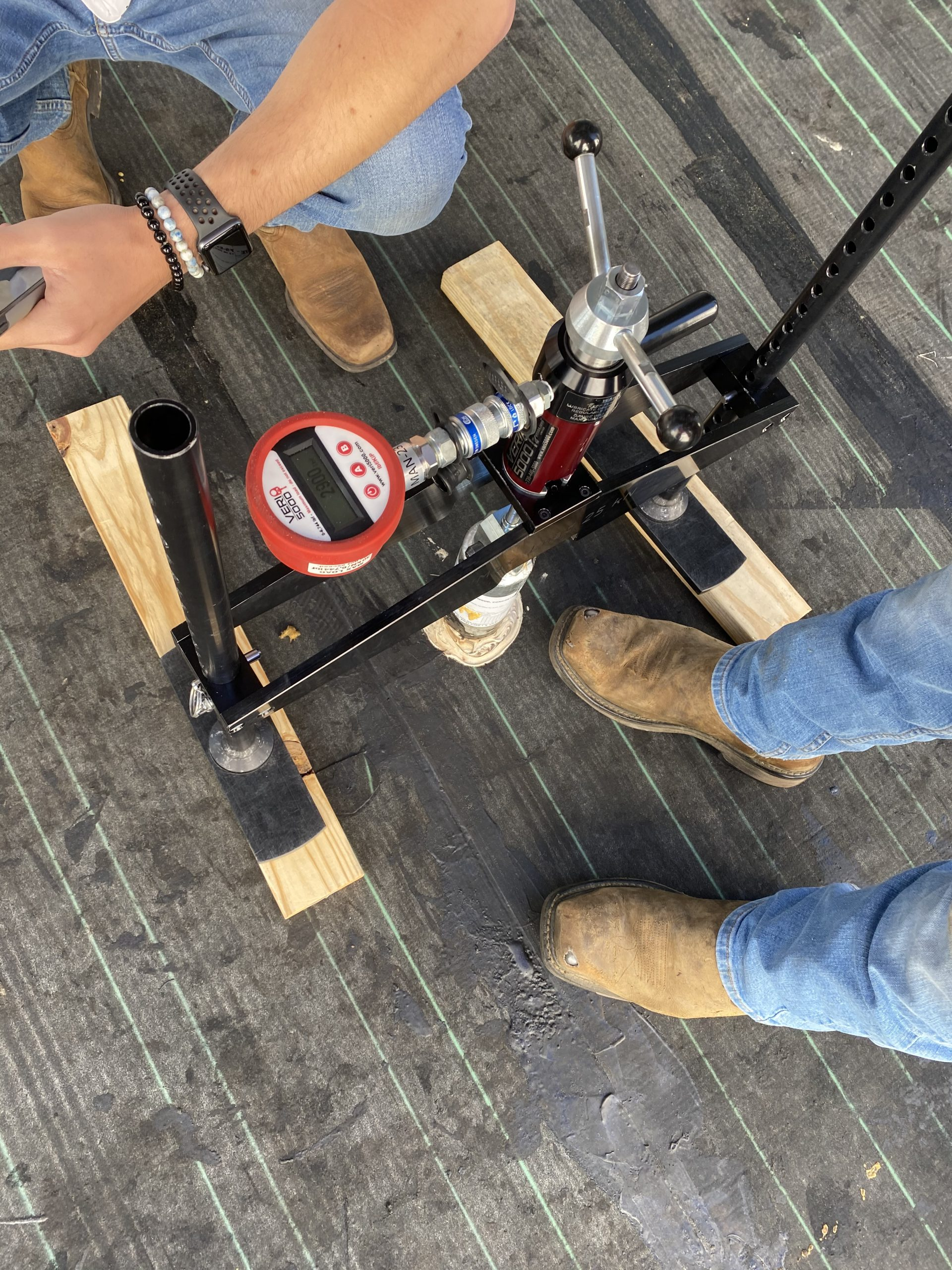 Best roof anchor testing verification company in Denver CO